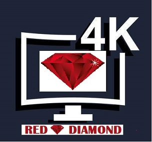 1 Month 4K UHD RED DIAMOND PREMIUM Subscription