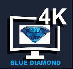 1 Month 4K UHD BLUE DIAMOND Subscription