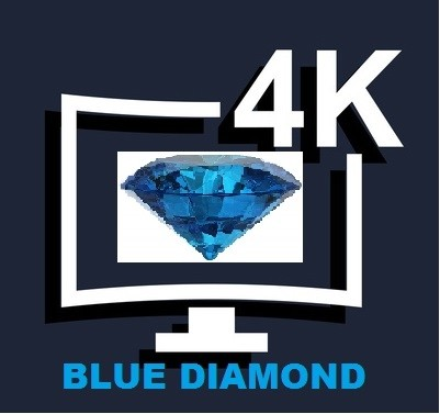 12 Months 4K UHD BLUE DIAMOND Subscription